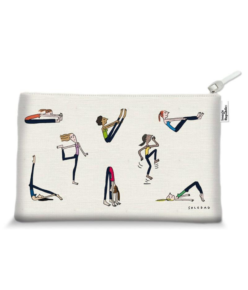 15X25 Cm Trousse Soledad Yoga - Image Républic