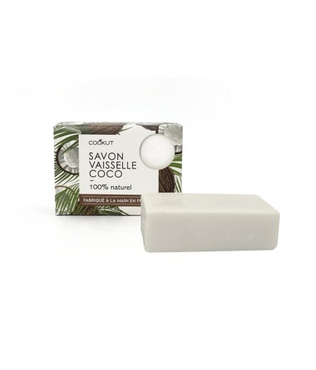 Savon vaisselle solide (Made in Lyon) COCO - Cookut