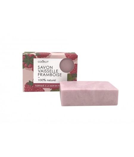 Savon vaisselle solide (Made in Lyon) FRAMBOISE - Cookut