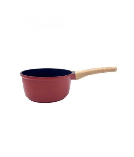 Casserole 20 cm / 2,4 l Rouge passion - intérieur noir  - Cookut