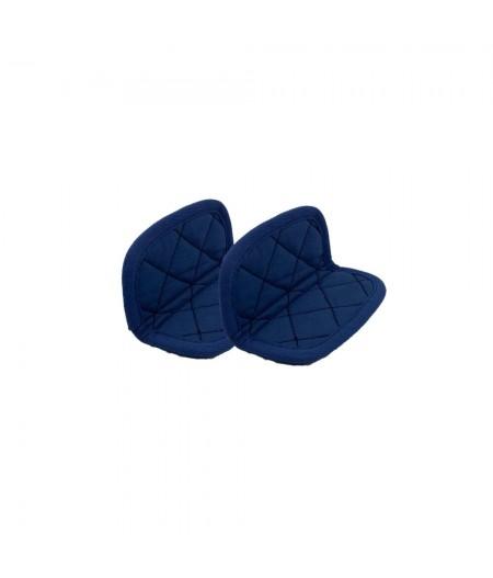 Paire de maniques coton Bleu - Myrtille - Cookut