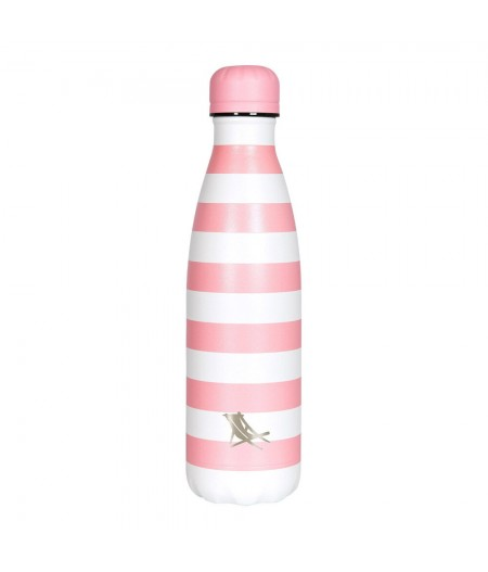 Gourde Thermos 500ml Dock & Bay Chilly's Bottle Malibu Pink