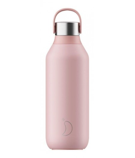 Gourde Thermos Series 2 500ml Chilly's Bottle Blush Pink