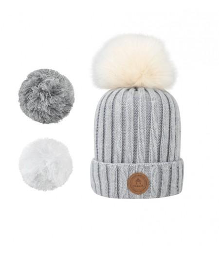 Bonnets Cabaïa - Premium - Kir Royal - Polar -  Grey