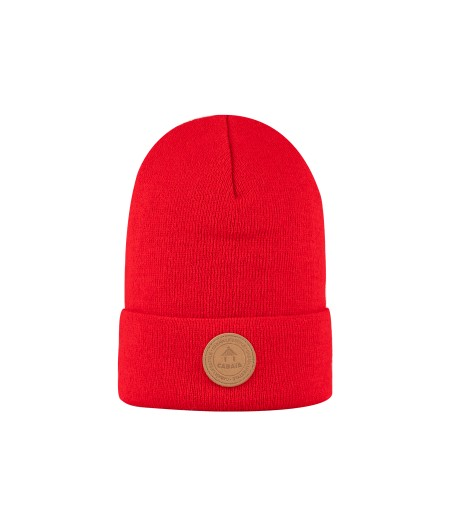 Bonnets Cabaïa - Without Pompom - Jungle Juice - No Polar -  Red