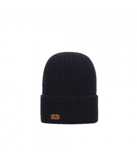 Bonnets Cabaïa - Woolmark - French 75 - No Polar -  Black