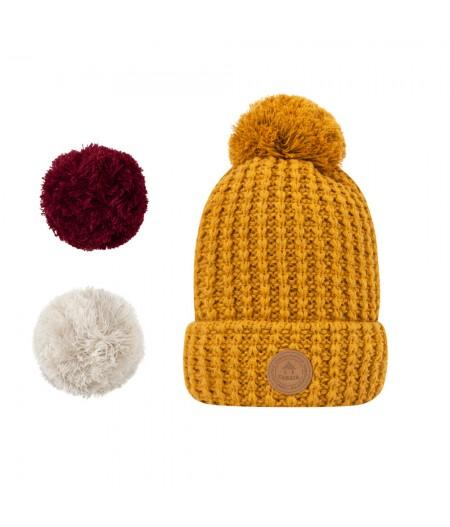 Bonnets Cabaïa - Timeless - Bandista - No Polar -  Mustard